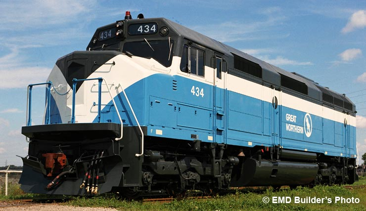 Gn 441 Luxury Locomotive Lodge Emd S F45 Locomotive King